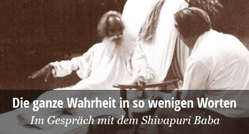 John G. Bennett udn der Shivapuri Baba im Gespräch
