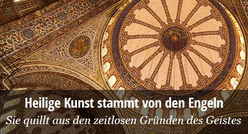 Titus Burckhardt: Sakrale Kunst im Islam, Christentum, Buddhismus, Hinduismus und Taoismus.