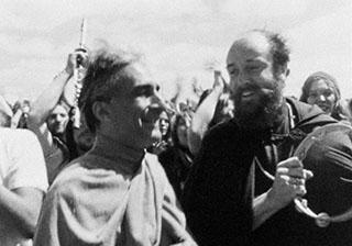 Pir Vilayat und Reshad Feild in Glastonbury 1971