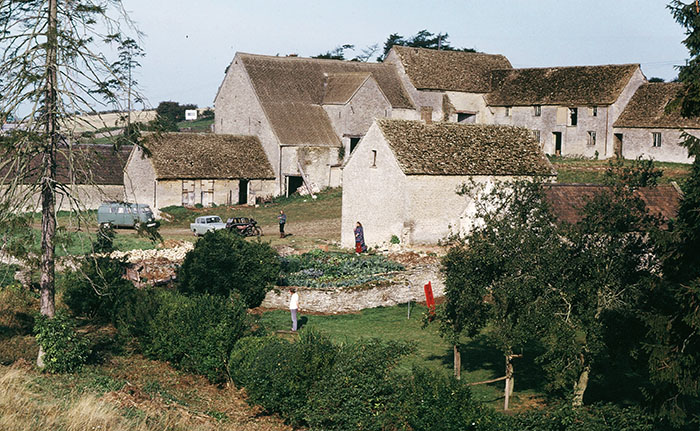 Swyre Farm in Gloucestershire ca. 1971