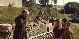Reshad Feild auf der Swyre Farm 1971.