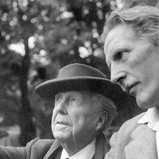John G Bennett und Frank Lloyd Wright