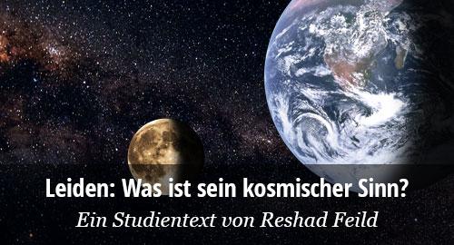 Erde, MOnd und Galaxie