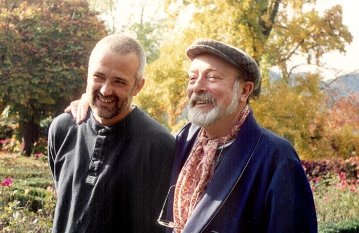 Stefan Bommer und Reshad Feild