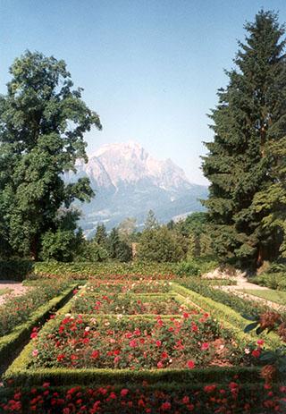 Garten des Johanneshos, Kastanienbaum, Schweiz
