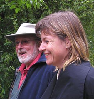Reshad Feild und Regina Bommer