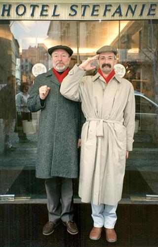 Reshad Feild und Stefan Bommer