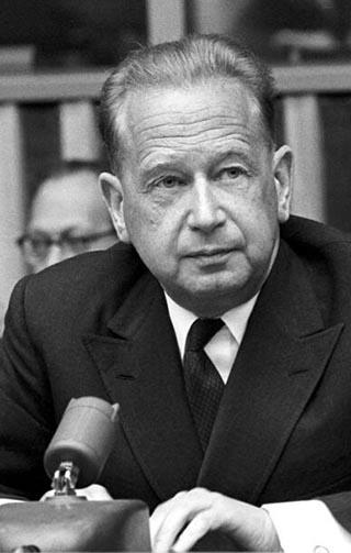 Dag Hammarskjöld, Pressekonferenz, Mai 1961