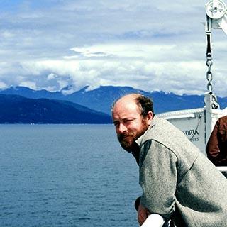Reshad Feild auf einem Schiff