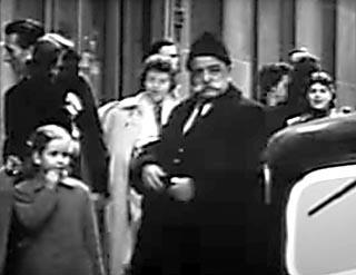 Gurdjieff in Paris vor einem Ausflug