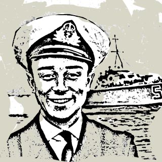 Reshad Feild in der Royal Navy