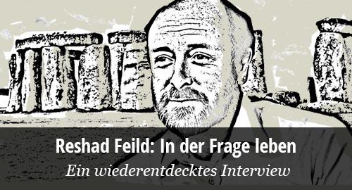 Reshad Feild Interview